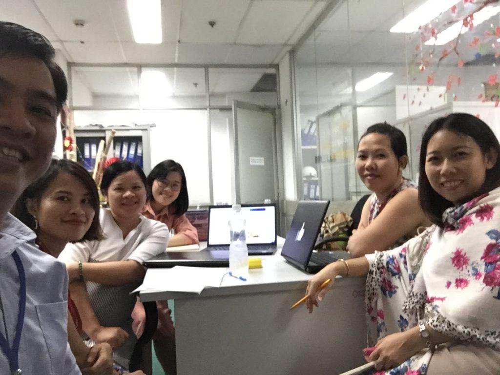 Coaching Media Team