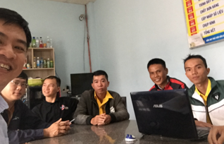 With Sales Team (THP-DongNai)