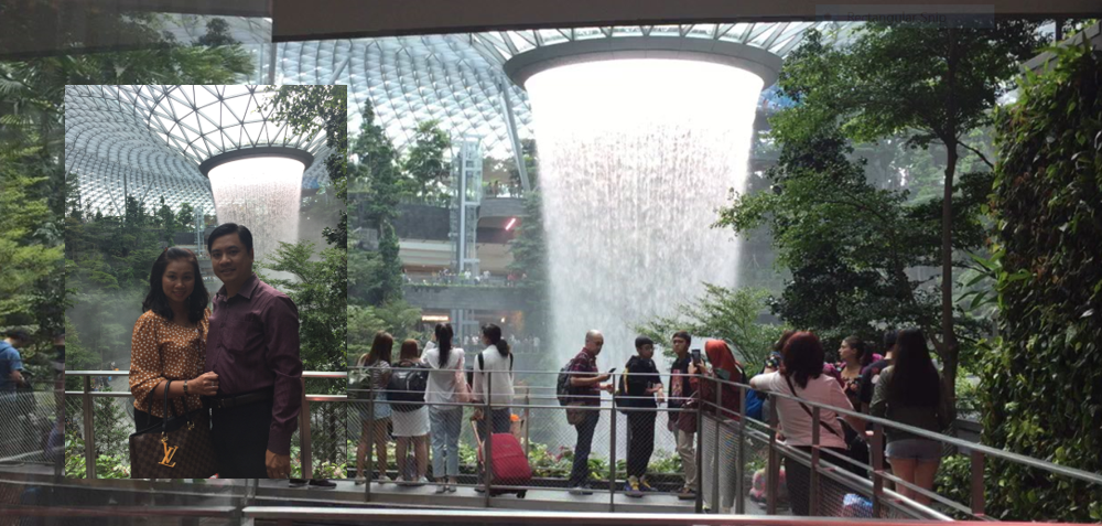Trải nghiệm tại Changi Airport