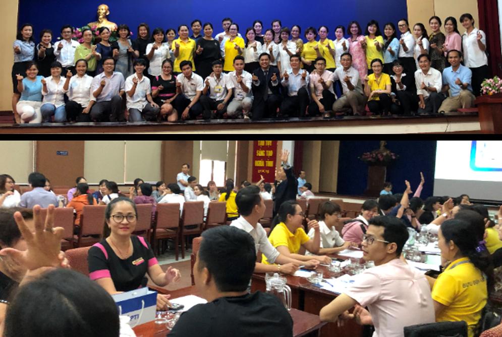 Training with Bưu Điện Tp. HCM